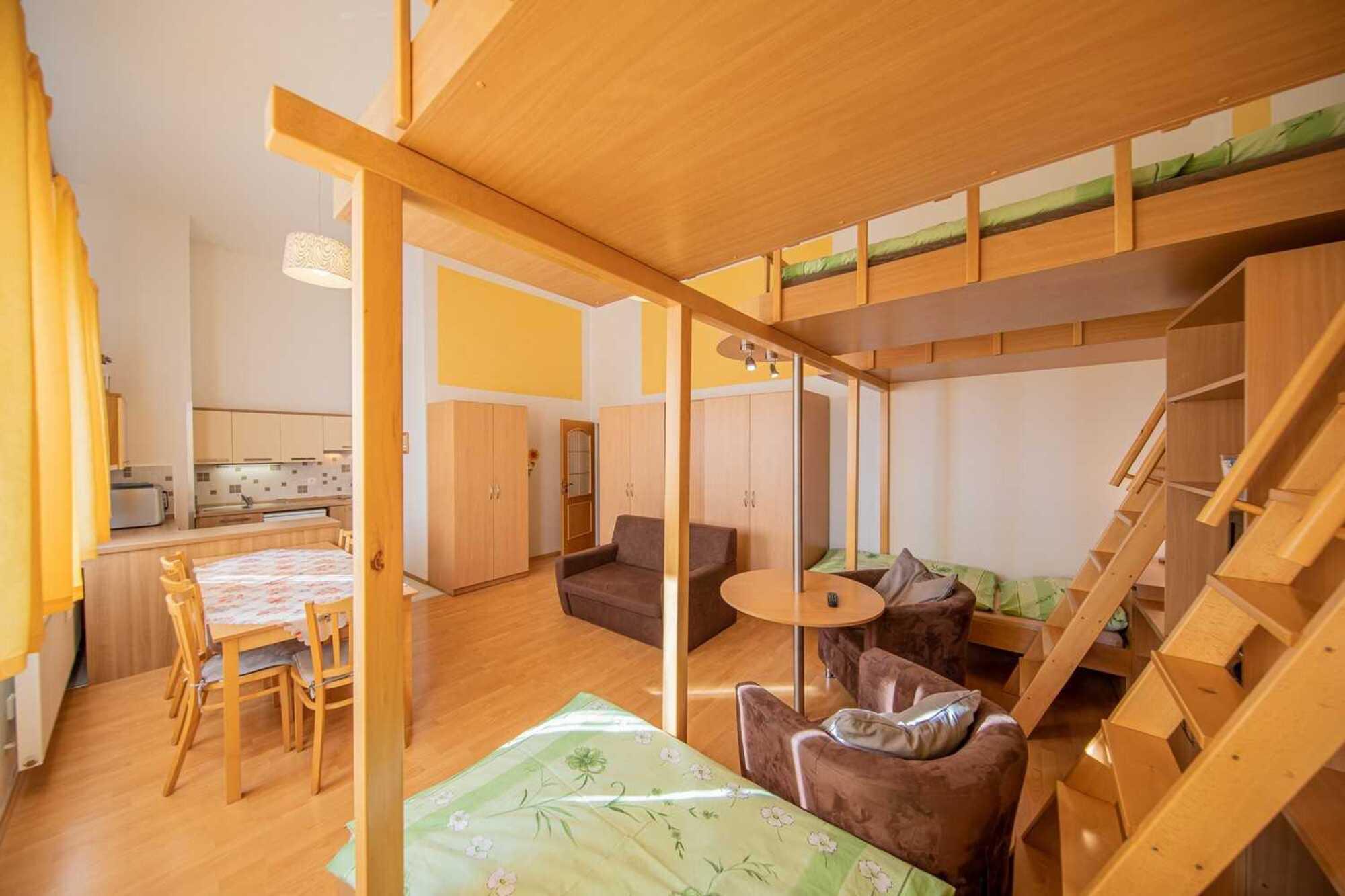 Apartmán pro 4 osoby Šídl